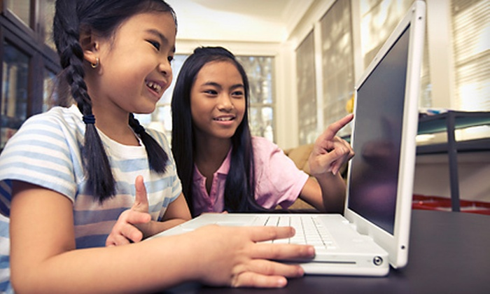Digital Monkey School - Belmont: One or Five Kids' Digital-Art Classes for Two or Four at Digital Monkey School (Up to 56% Off)