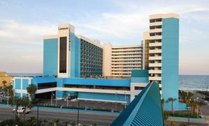 Kid-Friendly Oceanfront Resort in Myrtle Beach at Landmark Resort Hotel, plus 6.0% Cash Back from Ebates.