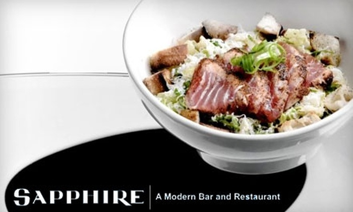 Sapphire - Downtown Knoxville: $15 for $30 Worth of Fresh Southern Cuisine at Sapphire