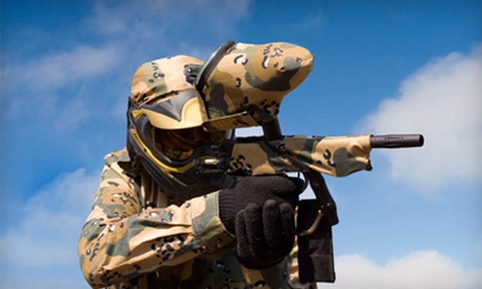 Paintball Country - Hamilton: $15 for Equipment Rental Package and Field Fee at Paintball Country in Hamilton ($30 Value)
