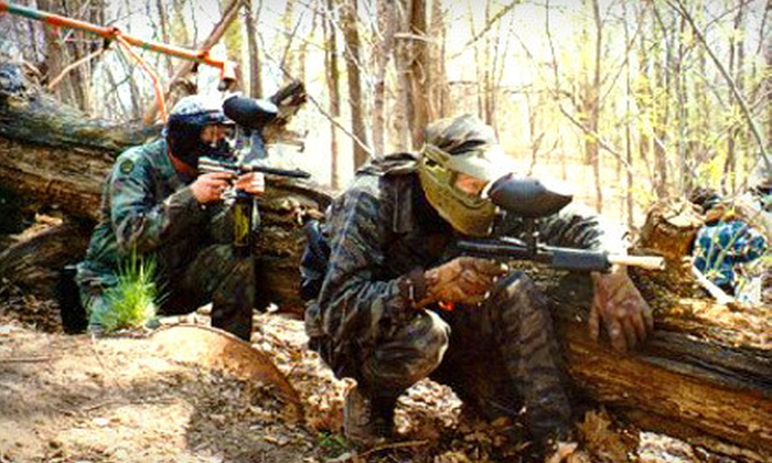 Jaegers Paintball Complex - Northland: Paintball Outing with Gear Rental and 100 Paintballs for One, Two, or Four at Jaegers Paintball Complex (Up to 67% Off)