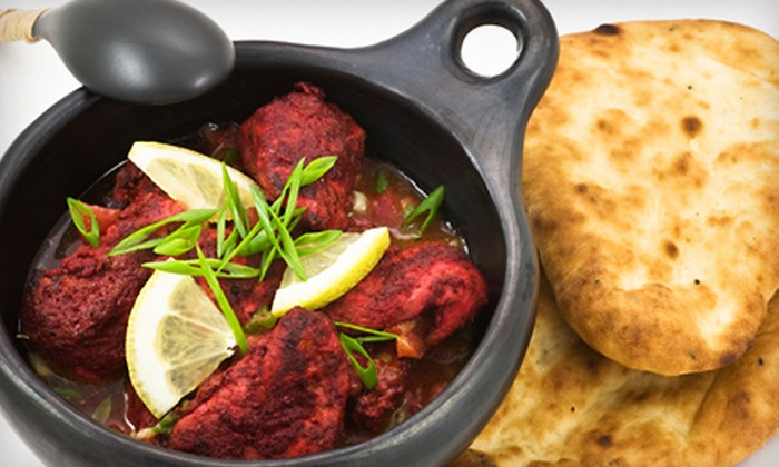 Aashirwad Palace & Martini Lounge - Randolph: $25 for Indian Dinner for Two at Aashirwad Palace & Martini Lounge in Randolph (Up to $58.85 value)