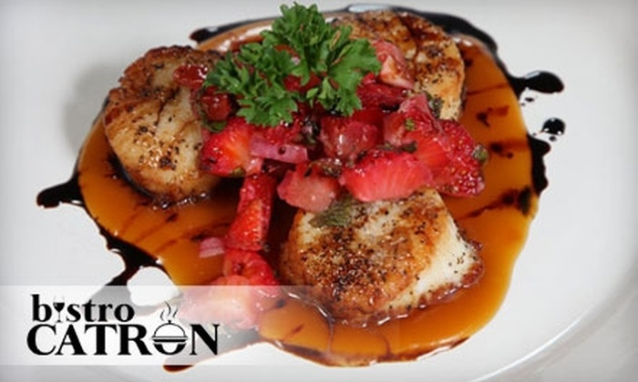 Bistro Catron - Energy Corridor: $10 for $20 Worth of Seafood and Italian Fare at Bistro Catron