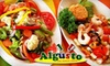 52% Off Mexican Cuisine at Algusto
