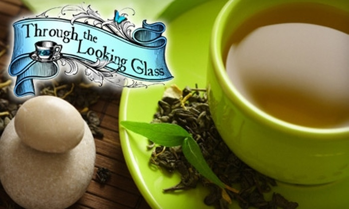 Through the Looking Glass - Shelbyville: $10 for $20 Worth of Cafe Fare, Tea, and Gifts at Through the Looking Glass in Shelbyville