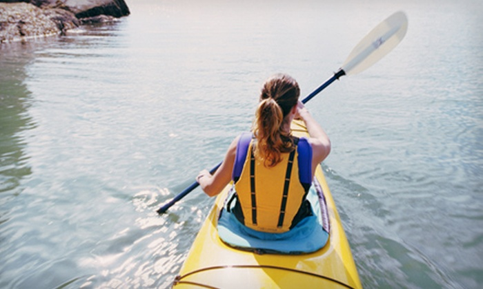 Canoe the Caney - Silver Point: Canoe or Kayak Trip for Two or Kayak Trip for One from Canoe the Caney in Silver Point (Half Off)