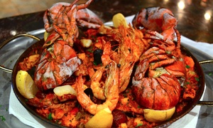 Vivo Tapas Lounge: Paella and Pitcher of Sangria for Two or Four at Vivo Tapas Lounge (Up to 56% Off)