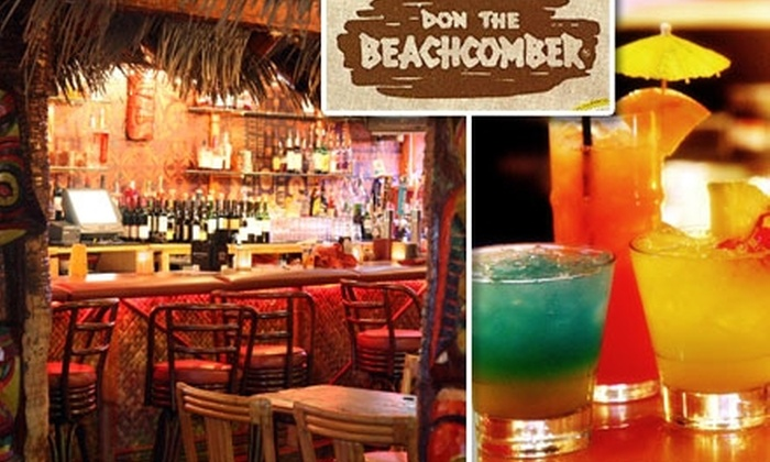 Don The Beachcomber - Huntington Beach: $25 for $50 Worth of Tiki-Bar Eats and Drinks at Don the Beachcomber