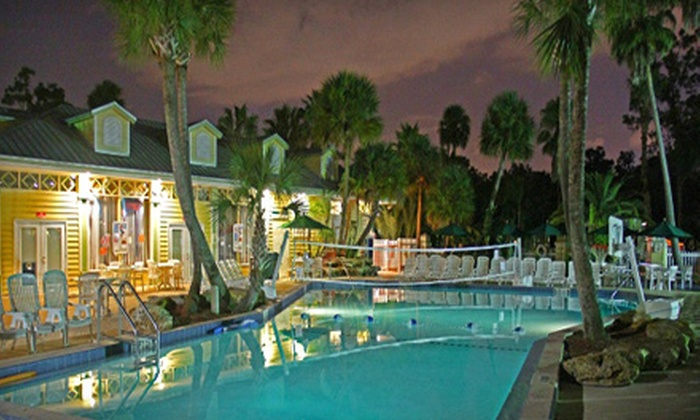 Tropical Palms Resort and Campground - Kissimmee: Two-Night Stay in a Premium Cottage or the RV Site at Tropical Palms Resort and Campground in Kissimmee