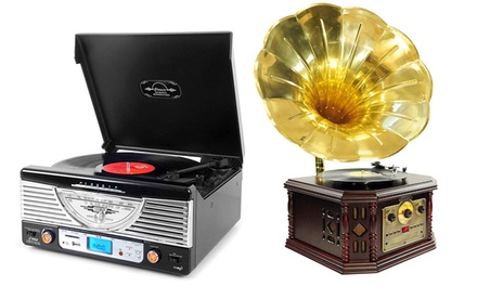 Pyle Vintage and Modern Turntables
