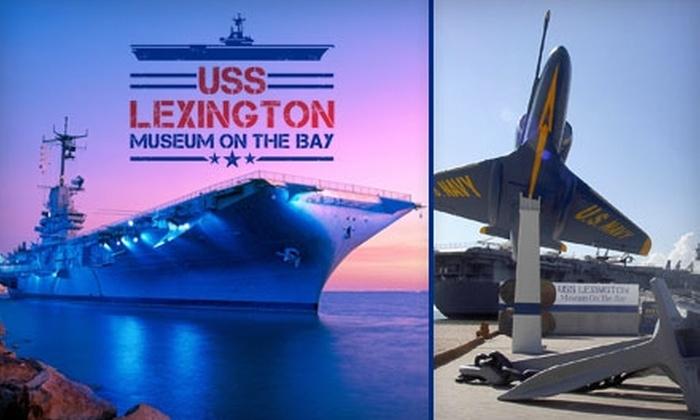 USS Lexington - Central City: $6 Adult Admission ($12.95 Value) or $3 Children's Admission ($7.95 Value) to the USS Lexington