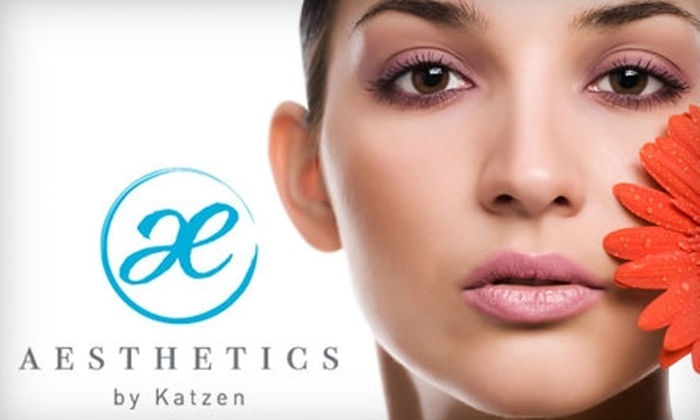 Aesthetics by Katzen - Lutherville - Timonium: $49 for a Skin-Rejuvenating Package of Three Enzyme Treatments and Chemical Peel Duos at Aesthetics by Katzen in Lutherville (Up to $330 Value)