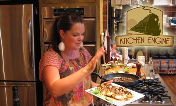 The Kitchen Engine - Riverside: $15 Cooking Class at The Kitchen Engine (Up to $40 Value)