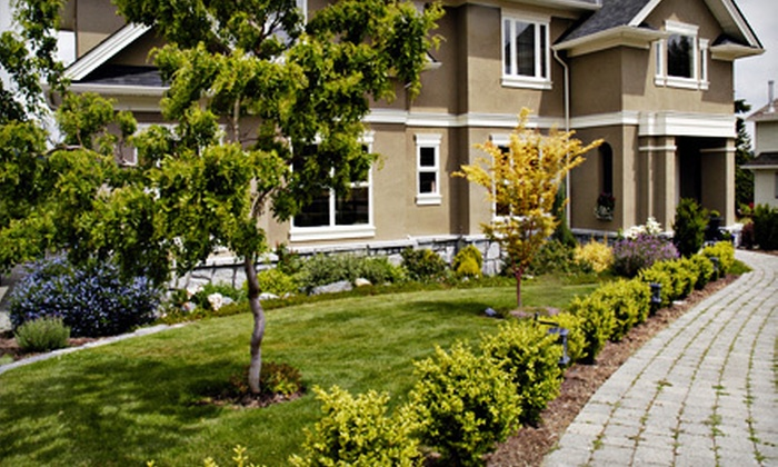 Sunshine Landscaping LLC - Las Vegas: Two or Four Man-Hours of Landscaping Services from Sunshine Landscaping LLC (Up to 69% Off)