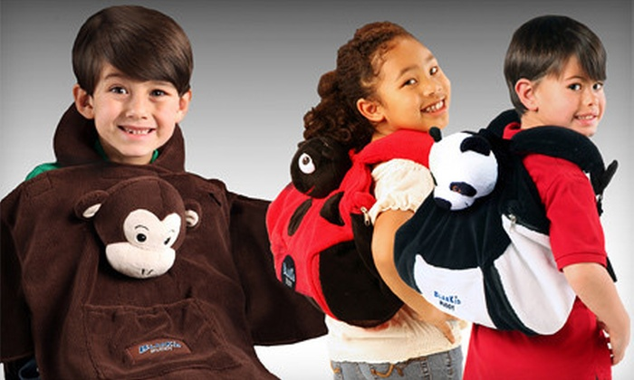 Panda, Lady Bug, or Monkey 4-in-1 BlanKid Buddies: Panda, Ladybug, or Monkey 4-in-1 BlanKid Buddies from Cabeau (Up to 53%). Valid in Contiguous U.S. Only.
