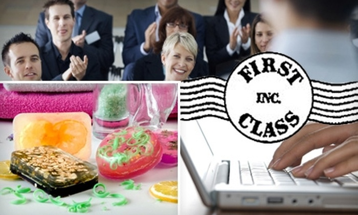 First Class Inc. - Dupont Circle: $20 for $40 Toward Any Adult-Education Class at First Class, Inc.