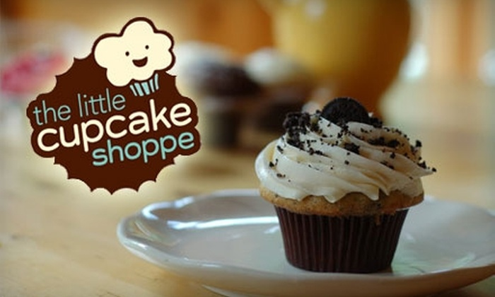 The Little Cupcake Shoppe - McKenzie Towne: $4 for Six Mini Cupcakes at The Little Cupcake Shoppe