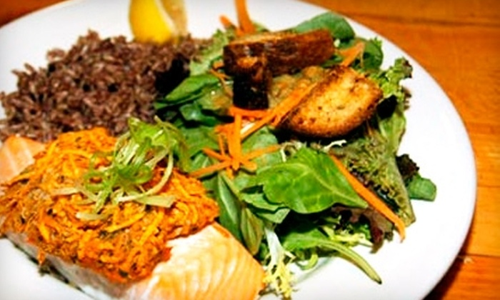 Pepperclub Restaurant - East Bayside - India Street: Global Dinner Fare and Drinks at Pepperclub Restaurant or Brunch Fare and Drinks at the Good Egg Café. Two Options Available.