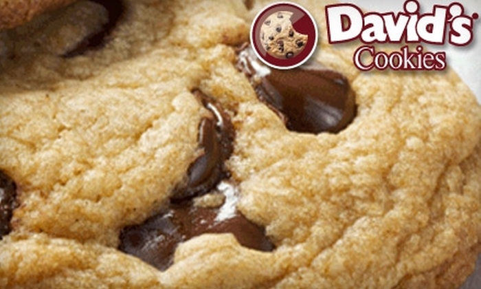 David's Cookies: $12 for $25 Worth of Fresh Baked Cookies, Brownies, Tarts, and More from David's Cookies