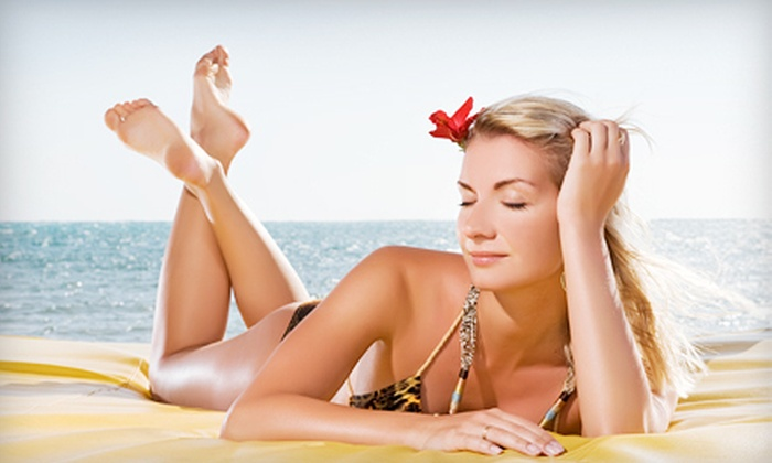 Let's Makeup - The Shops of Southlake: One, Two, or Three Spray Tans at Let's Makeup in Southlake (Up to 63% Off)