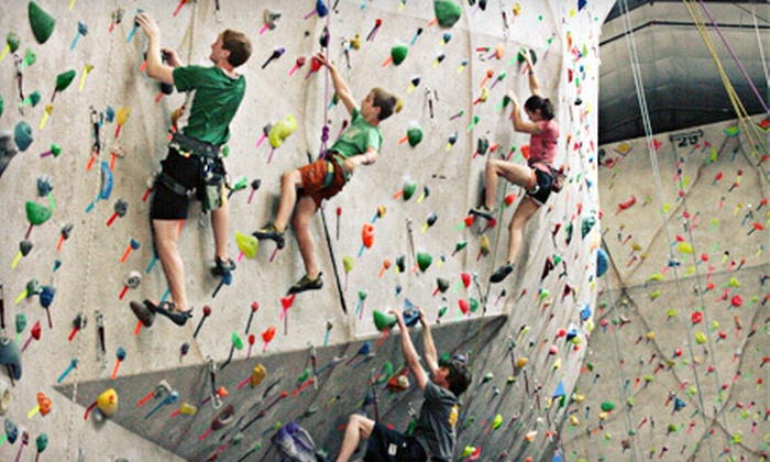 Climb Iowa - Grimes: $35 for a Climbing Package with Two-Week Membership, Gear Rental, and Belay Class at Climb Iowa in Grimes ($87.50 Value)
