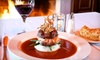 Bluff View Art District - Chattanooga: $20 for $40 Worth of Gourmet International Fare at Back Inn Café