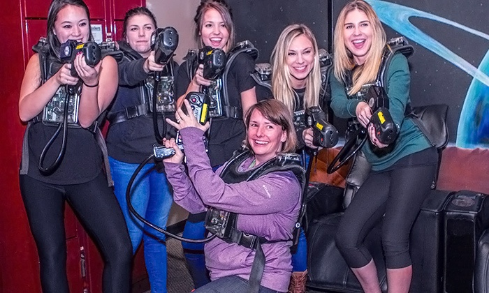 YNOT Have Fun - YNOT Have Fun: Laser Tag, Beer Tastings, and Grill Fare at YNOT Have Fun (Up to 52% Off)