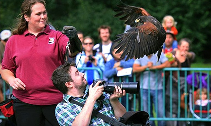 """Hawk Creek Wildlife Center - Aurora: $10 for """"Destination Earth"""" Wildlife Event for Two at Hawk Creek Wildlife Center in East Aurora ($20 Value)"""