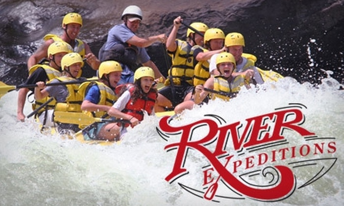 River Expeditions - New Haven: $77 for a 1-Day, 2-Night Rafting Trip on the New River Provided by River Expeditions (Up to $155 Value)