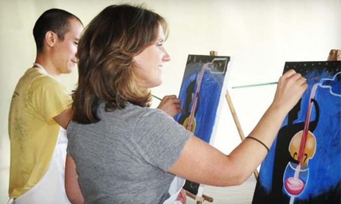 A Piece of Work - Fort Worth: $20 for a Painting Class at A Piece of Work (Up to $40 Value)