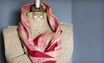 Choice of a Beginner Tote-Sewing Class or a Basic Knitting Class, Including Materials (a $45 value) - bon bon atelier in Kansas City