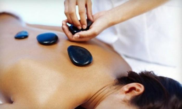 Peaches & Cream Spa - Oliver: $60 for a One-Hour Hot-Stone Massage at Peaches & Cream Spa ($120 Value)