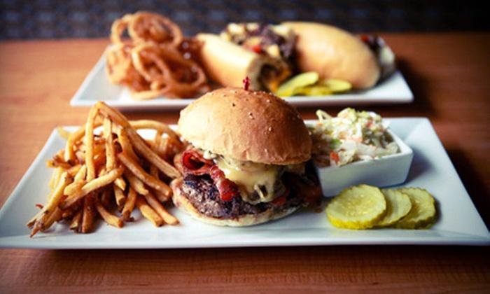 Flipside Burger & Bar - Fairfield: $10 for $20 Worth of Burgers and Shakes on Sunday–Thursday or Friday–Saturday at Flipside Burger & Bar in Fairfield