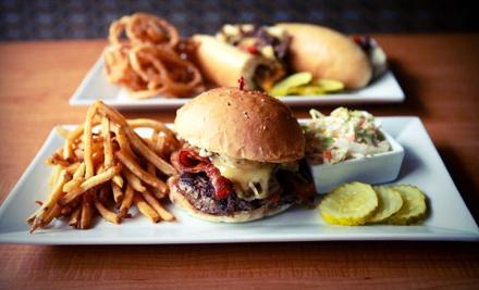 $20 Groupon for Grill Fare (SundayThursday) - Flipside Burger & Bar in Fairfield