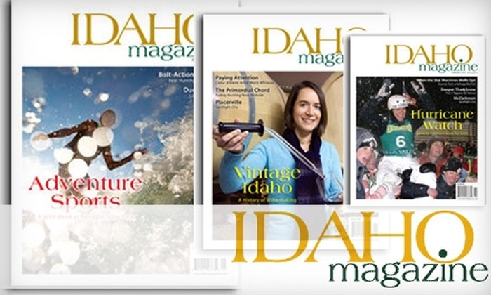 """""""Idaho"""" Magazine - Boise: $15 for a One-Year Subscription to """"Idaho"""" Magazine"""