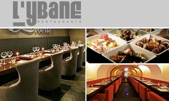 L'Ybane Restaurant - Upper East Side: $25 for $50 Worth of Authentic Mediterranean Cuisine At L'Ybane Restaurant