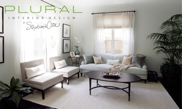 Plural Inc. - Orange County: $80 for Two Hours of Interior Design at Plural Interior Design