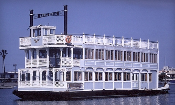The Sternwheelers - Mission Beach: $10 for Two Adult Tickets for Bahia Belle Boat Cruise from The Sternwheelers ($20 Value)