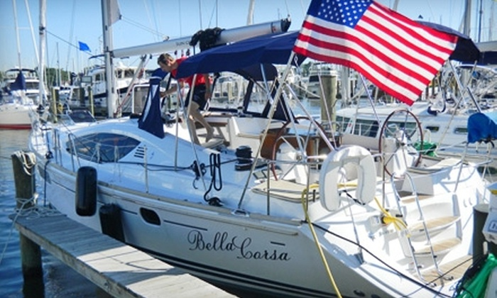 Bella Corsa - Annapolis: Weekday or Three-Day, Two-Night Luxury Yacht Charter from Bella Corsa in Annapolis. Nine Options Available.