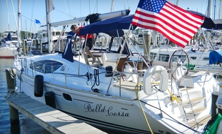 Bella Corsa: 1 Weekday Luxury Yacht Charter for Up to 7 People - Bella Corsa in Annapolis
