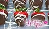 Hott Cakez - Enterprise: $15 for a Dozen Chocolate-Covered Strawberries at Hott Cakez ($36 Value)