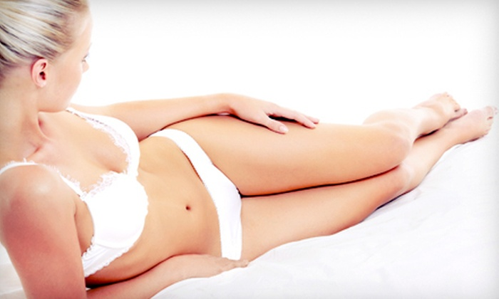 AmeriCurves - Lake Worth: Two or Four Ultrasonic Cavitation Cellulite Treatments at AmeriCurves in North Palm Beach (Up to 87% Off)