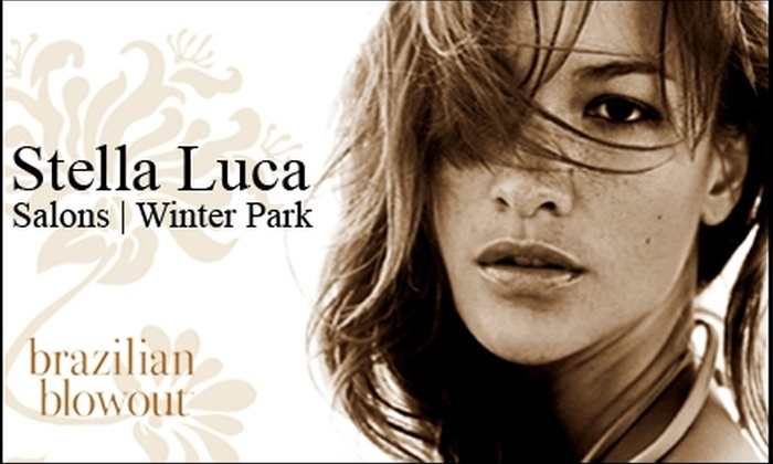 Stella Luca - Multiple Locations: $149 for a Brazilian Blowout at Stella Luca (Up to $325 Value)