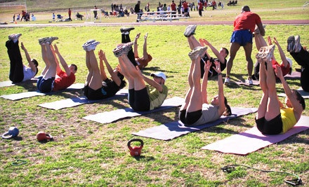20 Outdoor Boot-Camp Sessions (a $100 value) - X-Train: A Fitness Community in Corpus Christi