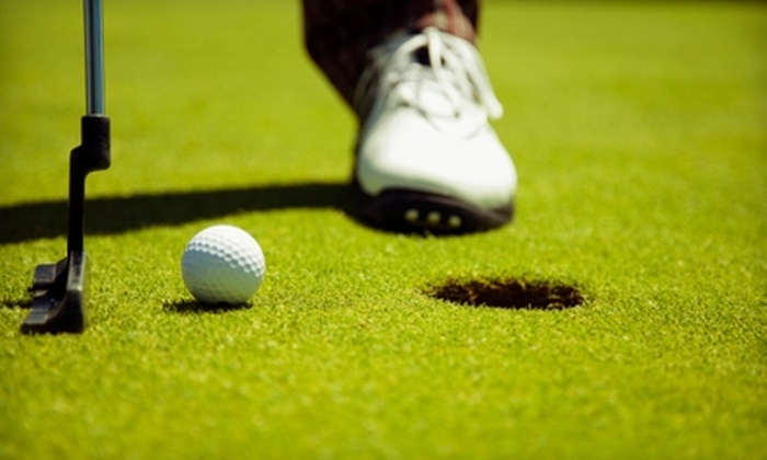 Davis Golf Course - Davis: $15 for 18 Holes of Golf, Cart Rental, and Bucket of Balls at Davis Golf Course (Up to $36 Value)