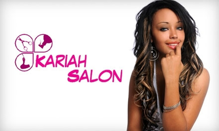 Kariah Salon - Multiple Locations: $50 for $125 Toward Weave Services or $25 for a Relaxer Retouch Treatment ($55 Value) at Kariah Salon