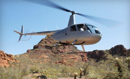Helicopter Tour and Flight Instruction for 2 People (a $599 value) - Sky Blue Helicopters in Scottsdale