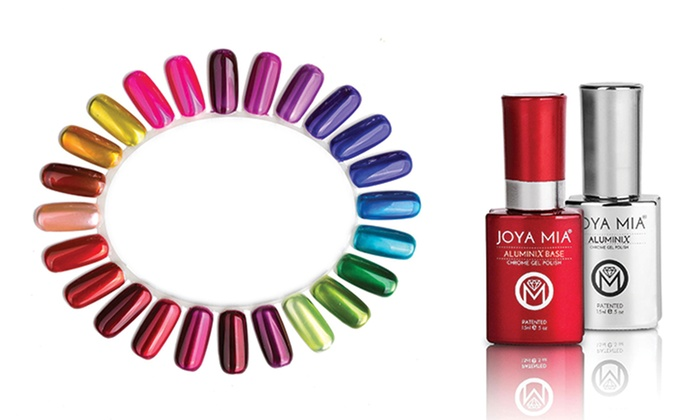 Up To 1 Off On Joya Mia Chrome Gel Nail Polish Groupon Goods