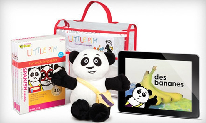 Little Pim: Kids' Language-Learning Digital Downloads or DVD Gift Sets from Little Pim (Up to 55% Off). Four Options Available.