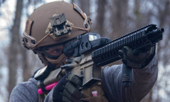 Metropolis Arena - McDonough: All-Day Airsoft Passes with Equipment for Two or Four at Metropolis Arena (63% Off)